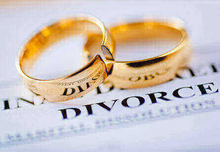 Wedding Rings and Divorce Papers